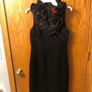 JS Collections Black Timeless Dress